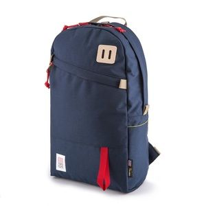 Topo Designs | Day pack red and blue